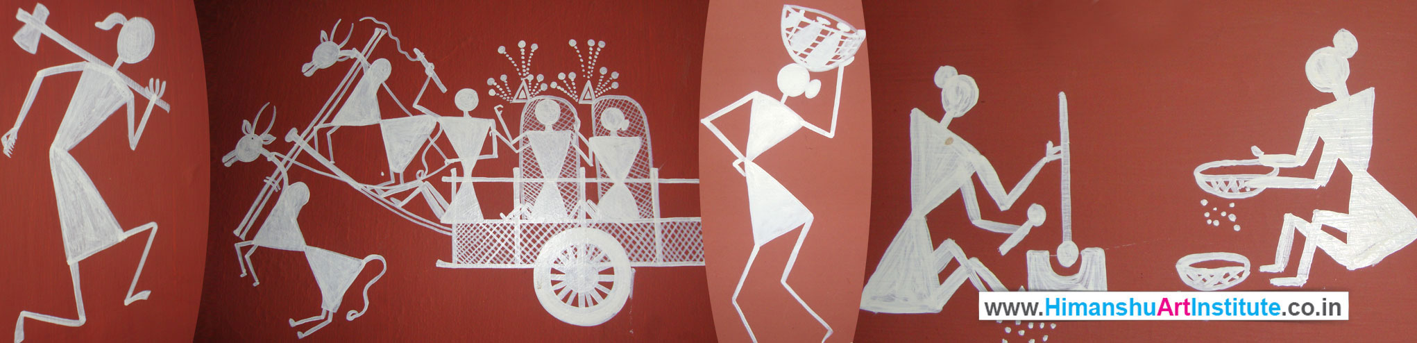 Certificate Course In Warli Painting Warli Painting Classes Indian