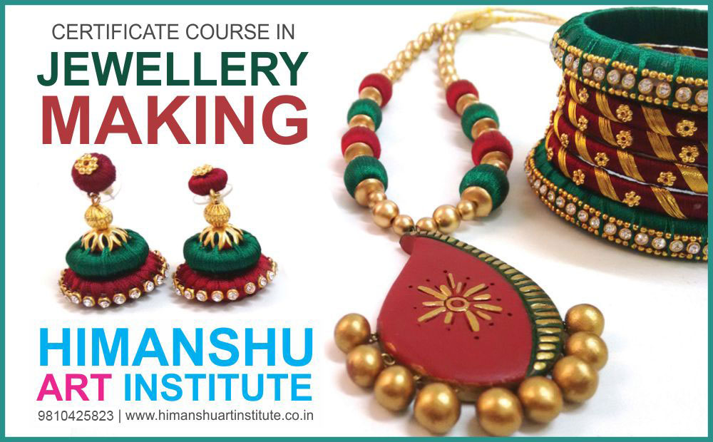Certificate Hobby Course in Jewellery Making, Jewellery Making ...