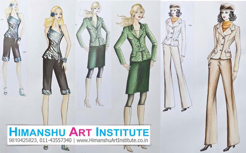 Online Fashion Sketching Classes