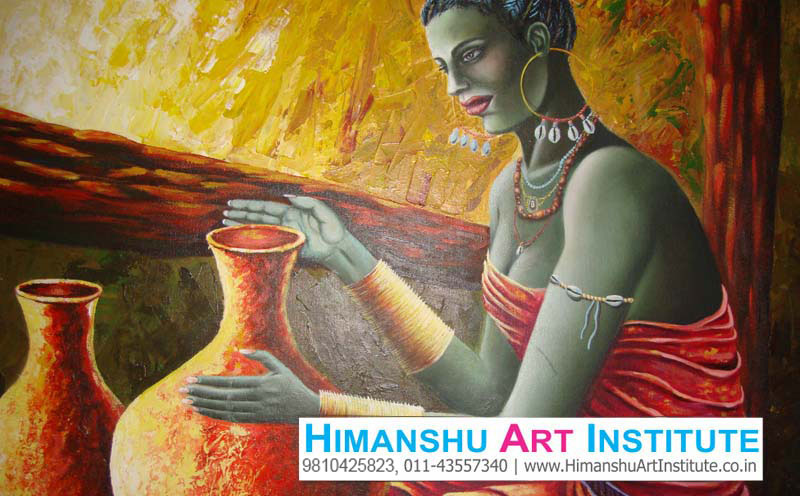 Join Professional Course In Oil Amp Acrylic Painting Oil