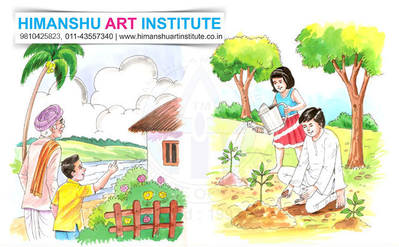 best institute of commercial art applied art designing classes in