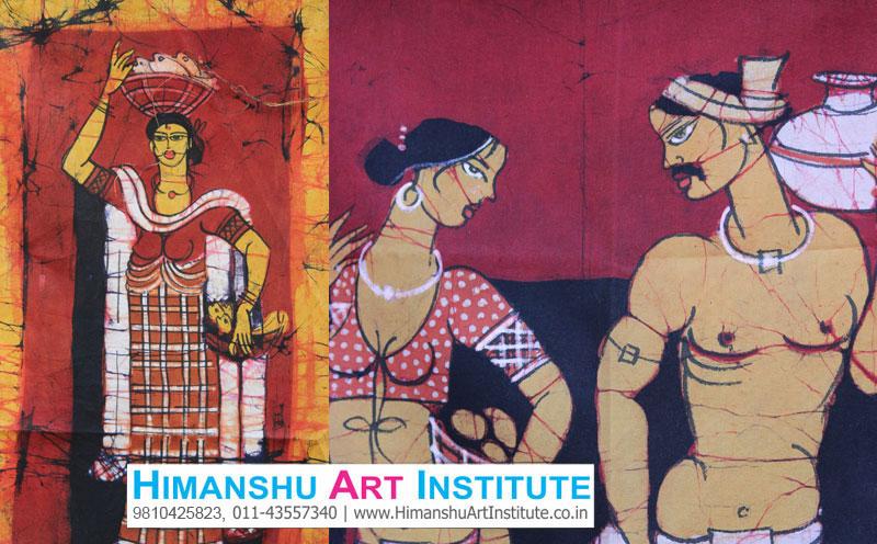 Certificate Course In Batik Painting Batik Painting