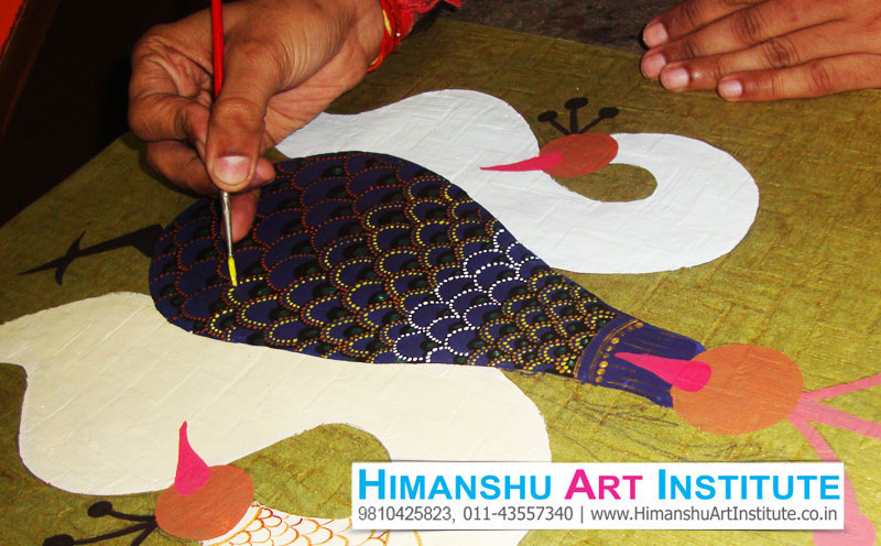Certificate Course In Gond Art Gond Art Classes Indian Traditional