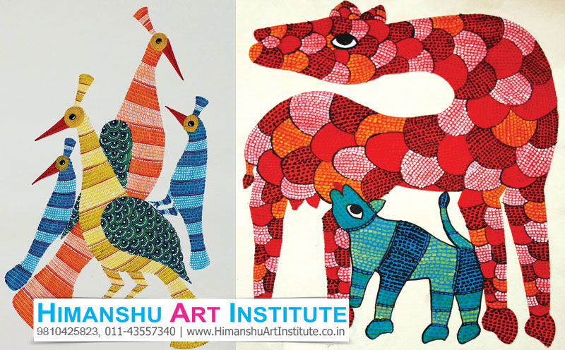 Certificate Course In Gond Art Gond Art Classes Indian