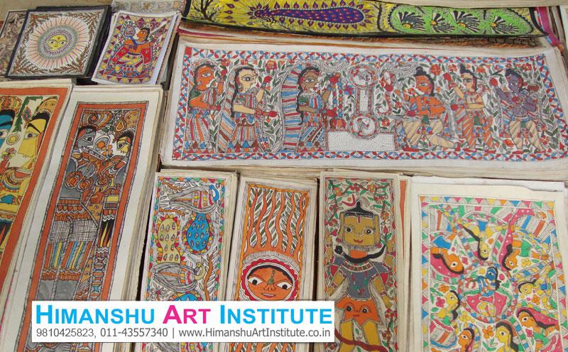 Certificate Course In Madhubani Painting Madhubani