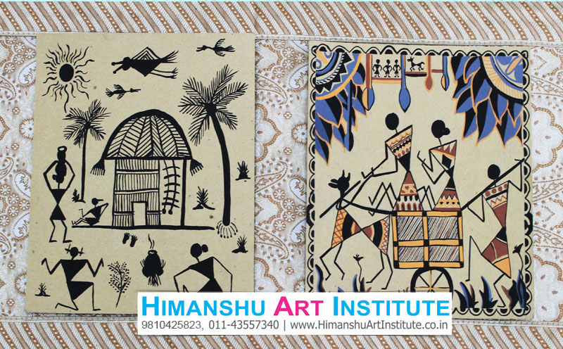Certificate course in warli painting warli painting classes indian indian traditional art warli painting classes altavistaventures Gallery