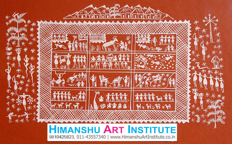Certificate Course In Warli Painting Warli Painting