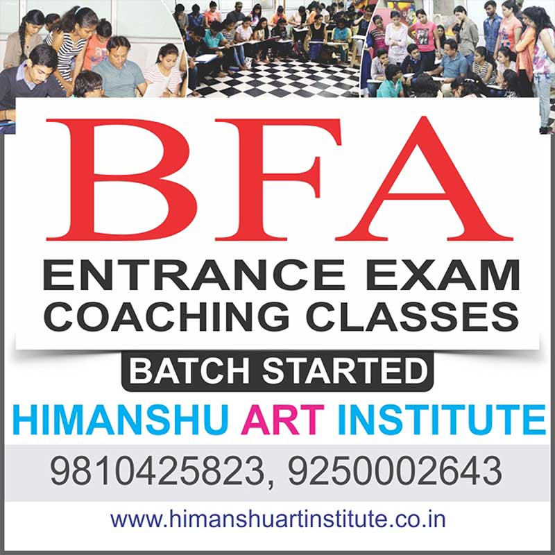 BFA Entrance Exam Preparation Classes